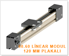 X60linear modul 120 mm kapakli